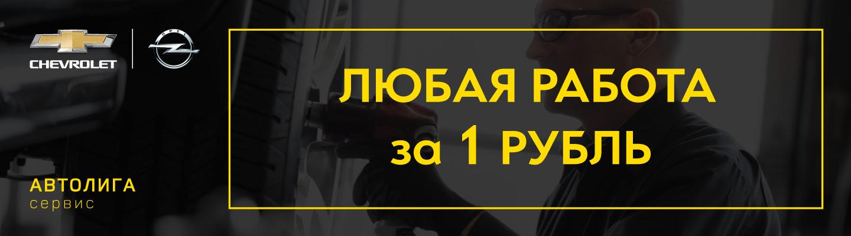 Любая работа за 1 рубль
